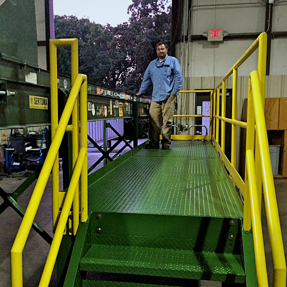 William Cooper at Clemson University – New Conveyor