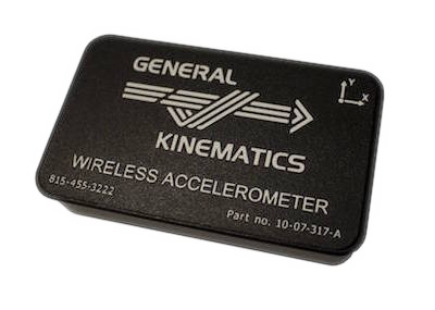 Wireless Accelerometer by General Kinematics