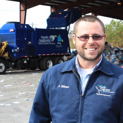 Jason Sikes MRF Mgr - North Augusta Solid Waste
