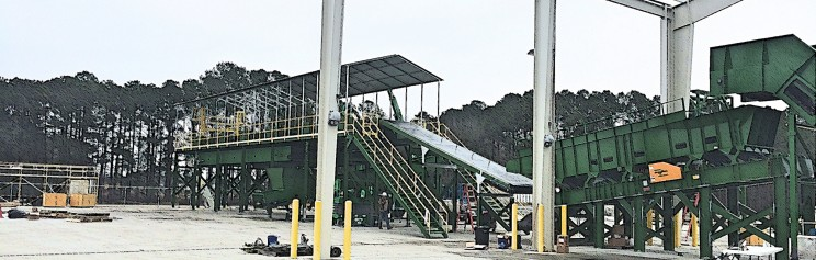 [Gallery] Pitt County C&D Recycling System Installation