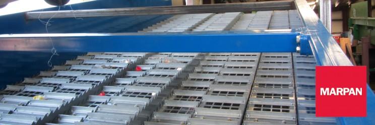 Single Stream Ballistic Separator to Marpan Recycling