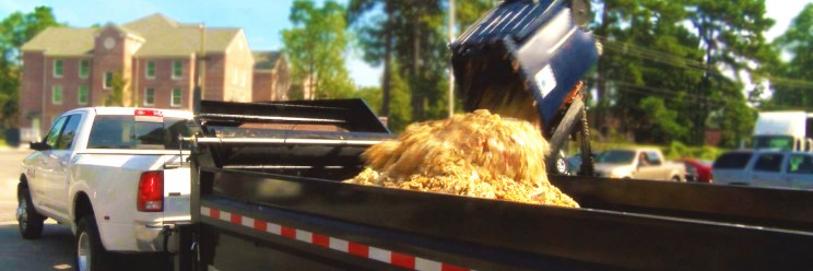 Food waste from area dining halls now being composted