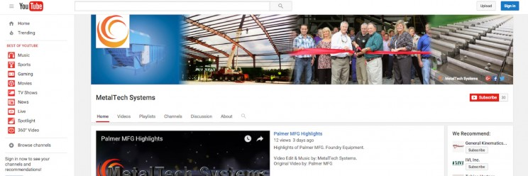 MetalTech Systems – What we've been up to!