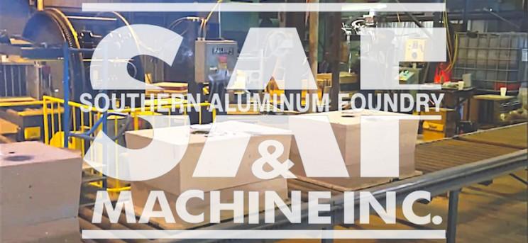 Palmer No-Bake Molding System at Southern Aluminum Foundry